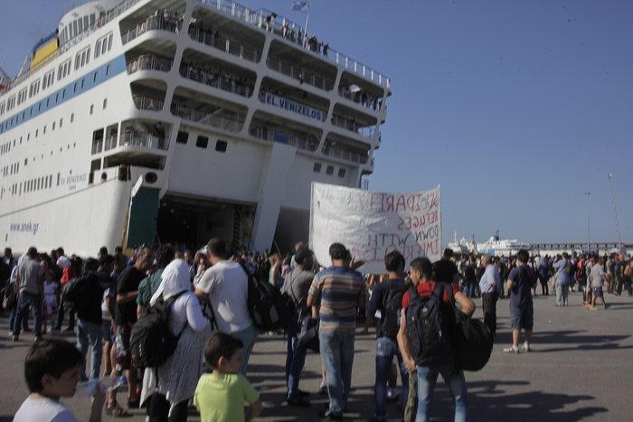 Τα Σκόπια «έστειλαν» το πλοίο στον Πειραιά