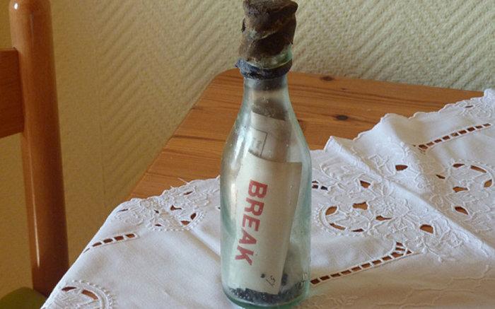 Το πιο παλιό μήνυμα σε μπουκάλι ήρθε 108 χρόνια μετά - εικόνα 2