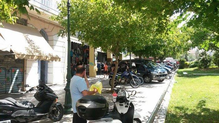 Ανδρας αυτοπυρπολήθηκε και έπεσε στο κενό στο κέντρο της Αθήνας - εικόνα 4