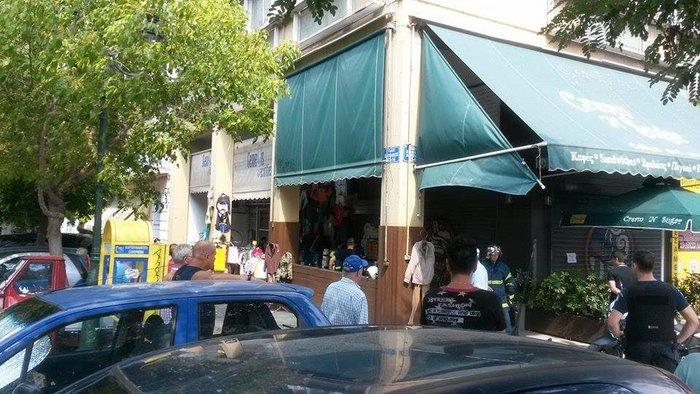 Ανδρας αυτοπυρπολήθηκε και έπεσε στο κενό στο κέντρο της Αθήνας - εικόνα 5
