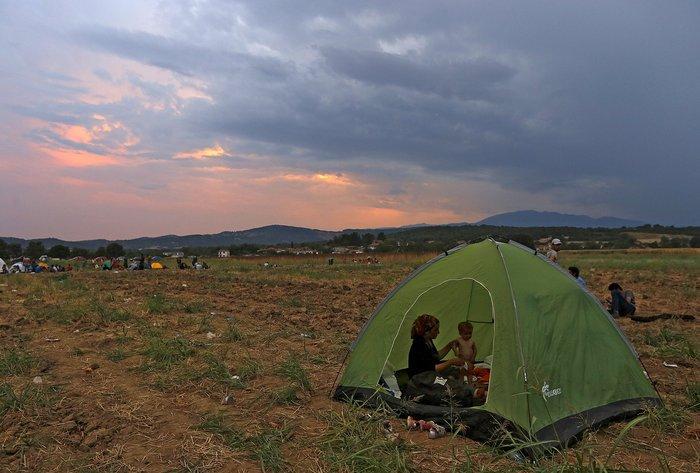 Ειδομένη: Σκηνές ντροπής και απελπισίας στα ελληνοσκοπιανά σύνορα - εικόνα 4