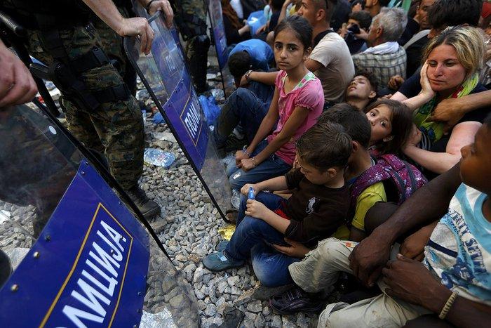 Ειδομένη: Σκηνές ντροπής και απελπισίας στα ελληνοσκοπιανά σύνορα - εικόνα 6