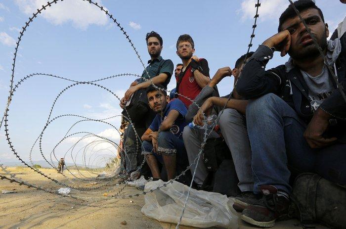 Ειδομένη: Σκηνές ντροπής και απελπισίας στα ελληνοσκοπιανά σύνορα - εικόνα 8