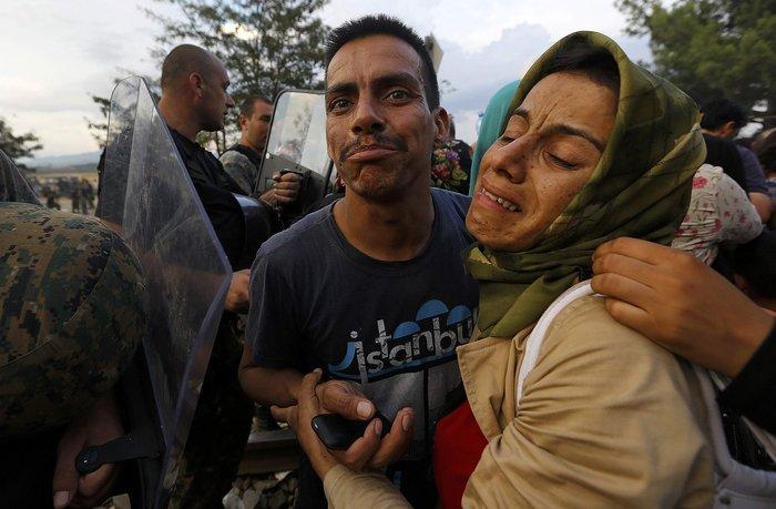 Ειδομένη: Σκηνές ντροπής και απελπισίας στα ελληνοσκοπιανά σύνορα - εικόνα 10
