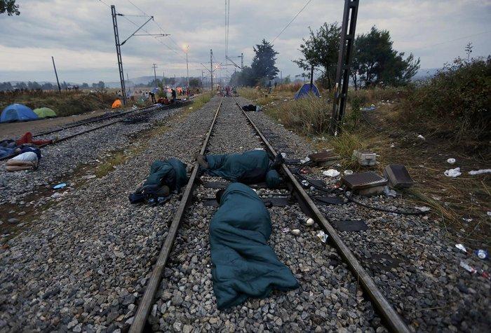 Ειδομένη: Σκηνές ντροπής και απελπισίας στα ελληνοσκοπιανά σύνορα - εικόνα 14
