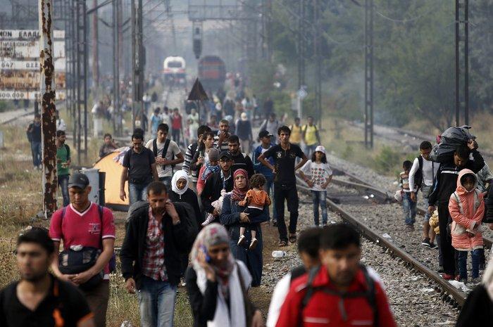 Ειδομένη: Σκηνές ντροπής και απελπισίας στα ελληνοσκοπιανά σύνορα - εικόνα 17