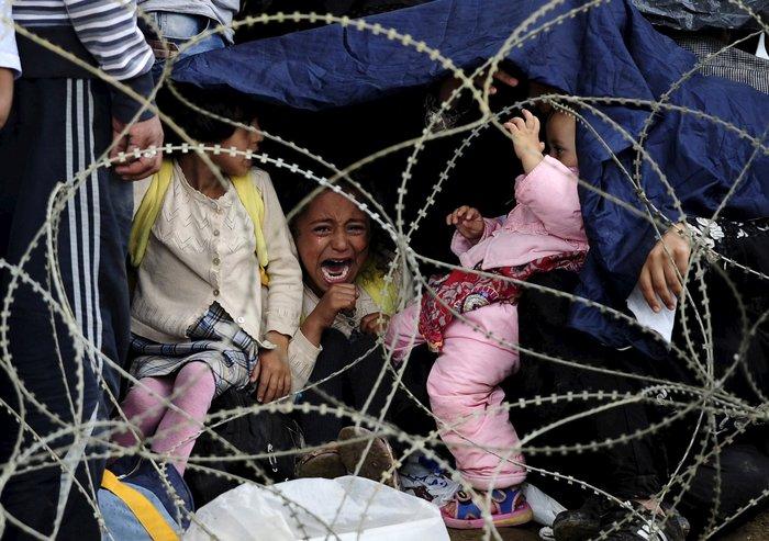 Ειδομένη: Σκηνές ντροπής και απελπισίας στα ελληνοσκοπιανά σύνορα - εικόνα 20