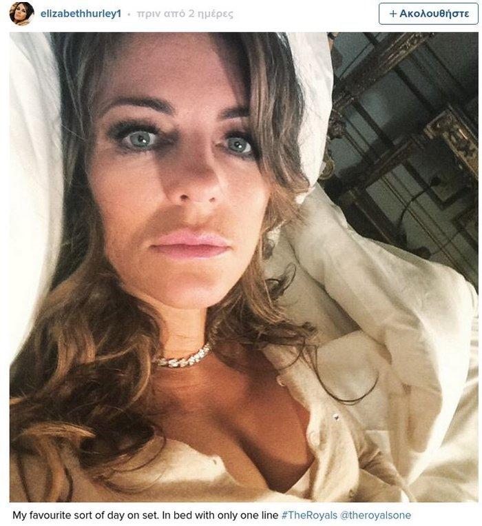Η σέξι Λιζ Χάρλεϊ στο κρεβάτι με τον Τζέικ Μασκάλ - εικόνα 2