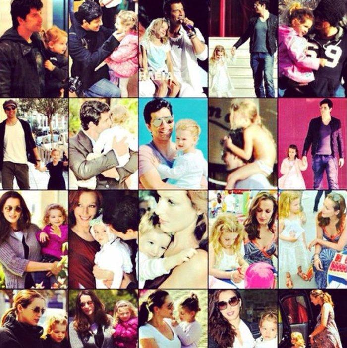 Ο Σάκης Ρουβάς με τα παιδιά του στην Ακρόπολη - ποιο του μοιάζει απίστευτα; - εικόνα 2