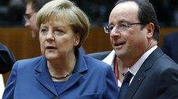 Μέρκελ- Ολάντ: Δεν κινδυνεύει η ευρωζώνη από την κρίση στην Ασία