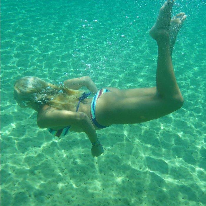 Η... αποκαλυπτική υποβρύχια φωτογραφία της Κωνσταντίνας Σπυροπούλου - εικόνα 2