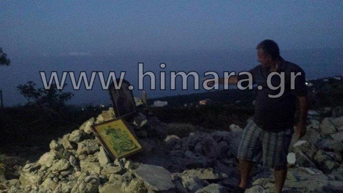 Αλβανική πρόκληση.Γκρέμισαν τον ορθόδοξο ναό στη Χιμάρα - εικόνα 4