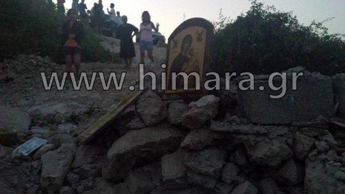 Αλβανική πρόκληση.Γκρέμισαν τον ορθόδοξο ναό στη Χιμάρα - εικόνα 5