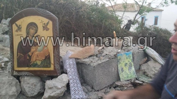 Αλβανική πρόκληση.Γκρέμισαν τον ορθόδοξο ναό στη Χιμάρα - εικόνα 8