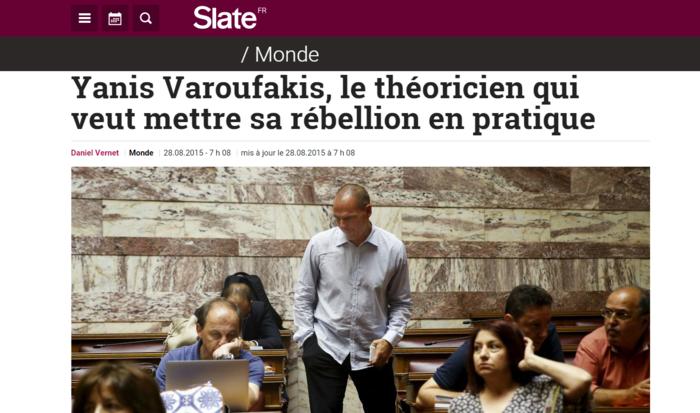 Slate: Όταν ο Γιάνης δοκίμαζε θεωρίες, ο Σόιμπλε έκανε πολιτική