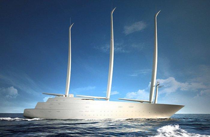 Το εντυπωσιακό σκάφος, αξίας 450 εκατομμυρίων δολαρίων