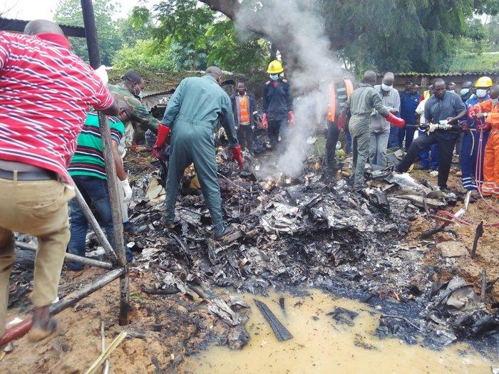 Συνετρίβη αεροσκάφος στη Νιγηρία – 7 νεκροί
