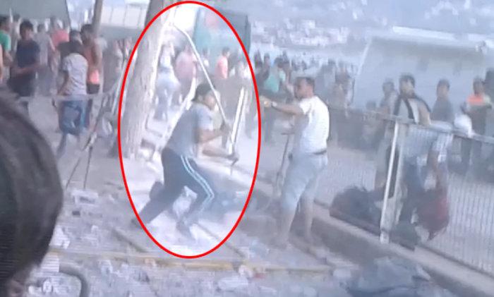 Συμπλοκές με σιδερόβεργες μεταξύ μεταναστών στο λιμάνι Μυτιλήνης