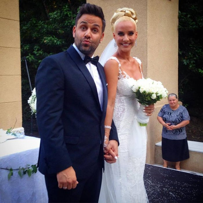 Γιαννιάς-Παντελιδάκη: Μόλις παντρεύτηκαν στην Ρόδο - εικόνα 2