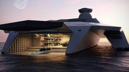 Το πολεμικό πλοίο του μέλλοντος μοιάζει με διαστημόπλοιο του Star Wars