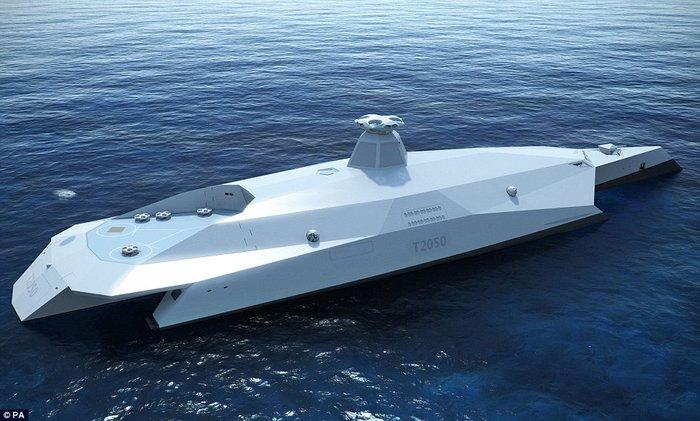 Το πολεμικό πλοίο του μέλλοντος μοιάζει με διαστημόπλοιο του Star Wars - εικόνα 3