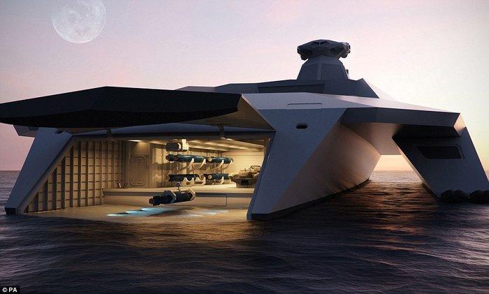 Το πολεμικό πλοίο του μέλλοντος μοιάζει με διαστημόπλοιο του Star Wars - εικόνα 6