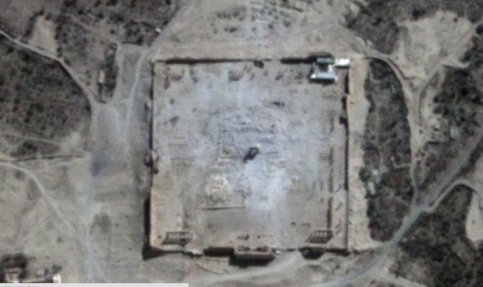 Απόλυτη καταστροφή των ναών στην Παλμύρα