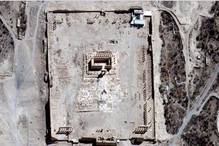 Απόλυτη καταστροφή των ναών στην Παλμύρα - εικόνα 2