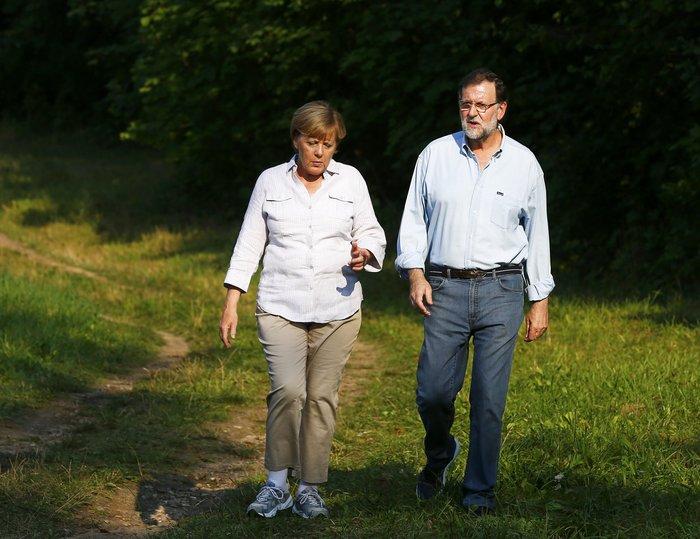 Η Μέρκελ έβαλε τα αθλητικά της και βγήκε βόλτα στο δάσος - εικόνα 3