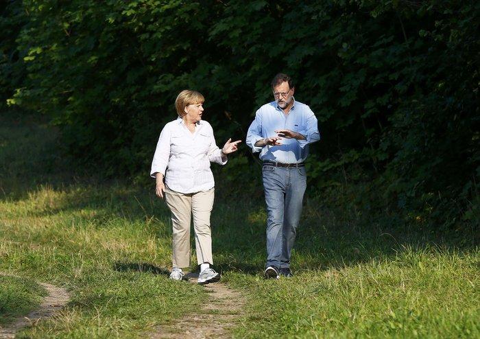 Η Μέρκελ έβαλε τα αθλητικά της και βγήκε βόλτα στο δάσος - εικόνα 4