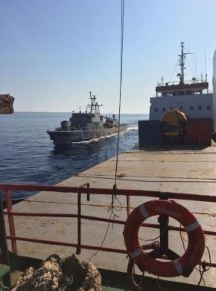 «Ιχνη» των τζιχαντιστών στο φορτηγό πλοίο με τα όπλα - εικόνα 2