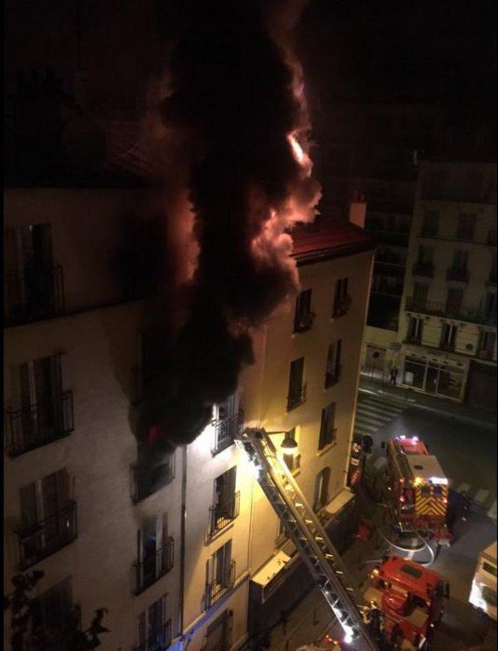 Τραγωδία στο Παρίσι: Οκτώ νεκροί από πυρκαγιά σε κτήριο
