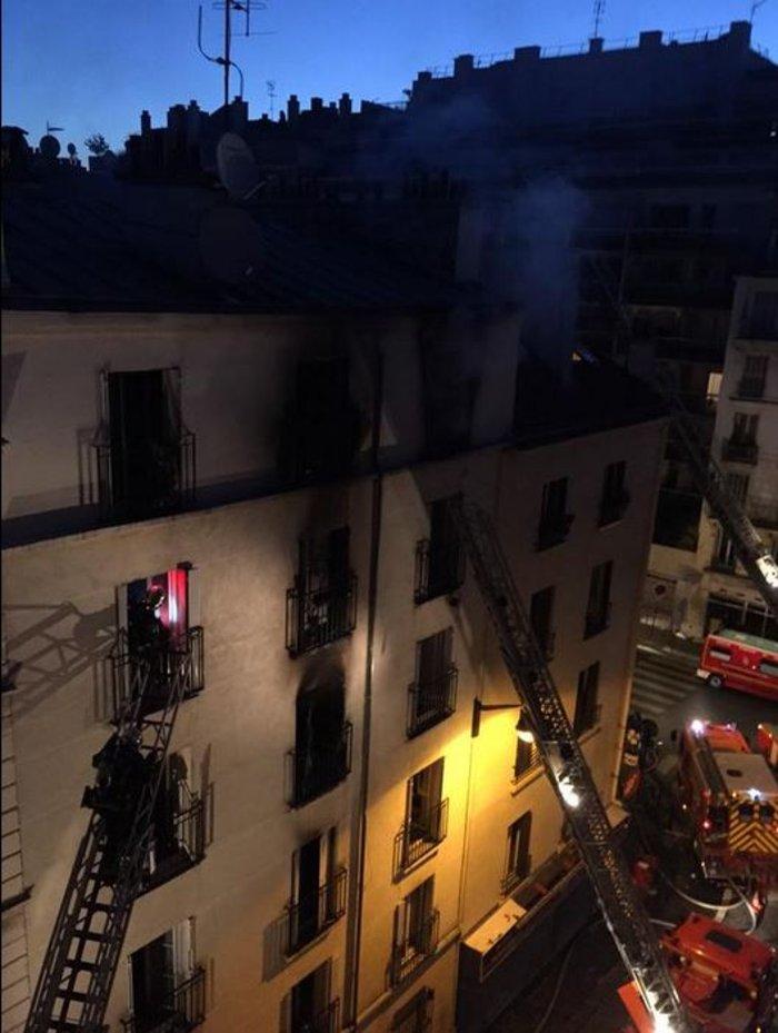 Τραγωδία στο Παρίσι: Οκτώ νεκροί από πυρκαγιά σε κτήριο - εικόνα 2