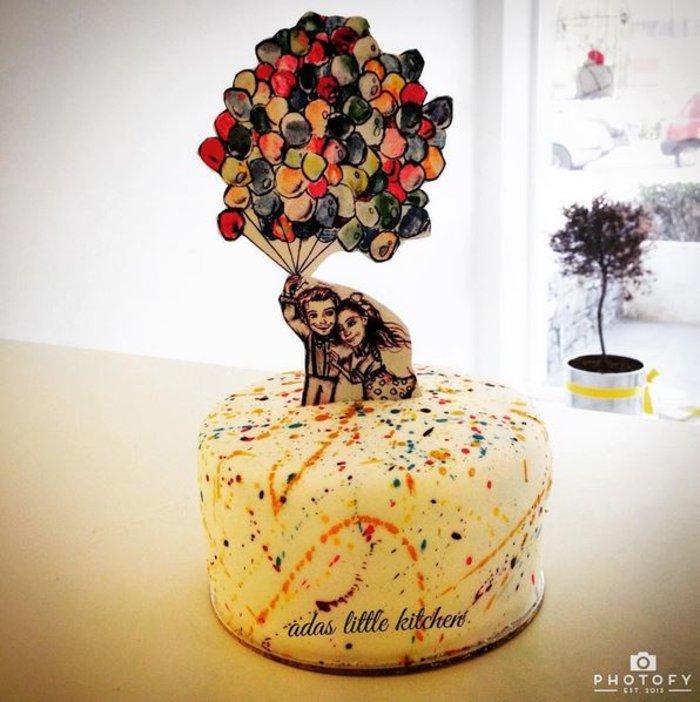 Η γαμήλια τούρτα από τα χεράκια της Άντας Λιβιτσάνου