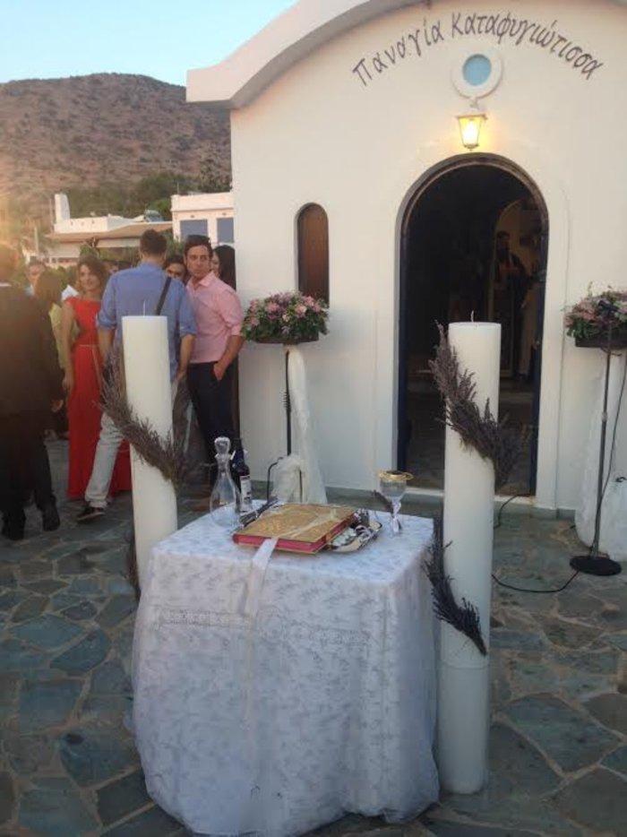 To TheTOC στον γάμο των Δημήτρη Μακαλιά - Αντιγόνης Ψυχράμη