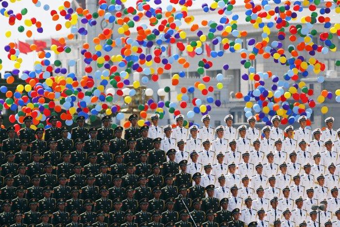 Μεγαλοπρεπείς εορτασμοί στην Κίνα για την επέτειο νίκης στον Β' ΠΠ - εικόνα 2