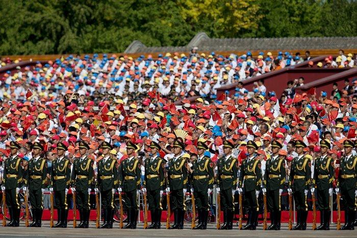 Μεγαλοπρεπείς εορτασμοί στην Κίνα για την επέτειο νίκης στον Β' ΠΠ - εικόνα 3
