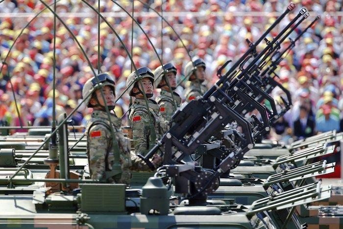 Μεγαλοπρεπείς εορτασμοί στην Κίνα για την επέτειο νίκης στον Β' ΠΠ - εικόνα 4