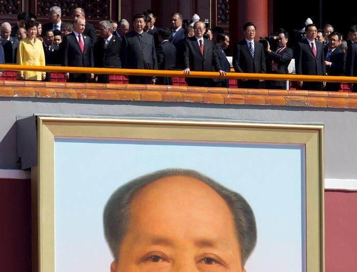 Μεγαλοπρεπείς εορτασμοί στην Κίνα για την επέτειο νίκης στον Β' ΠΠ - εικόνα 5