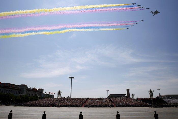Μεγαλοπρεπείς εορτασμοί στην Κίνα για την επέτειο νίκης στον Β' ΠΠ - εικόνα 6