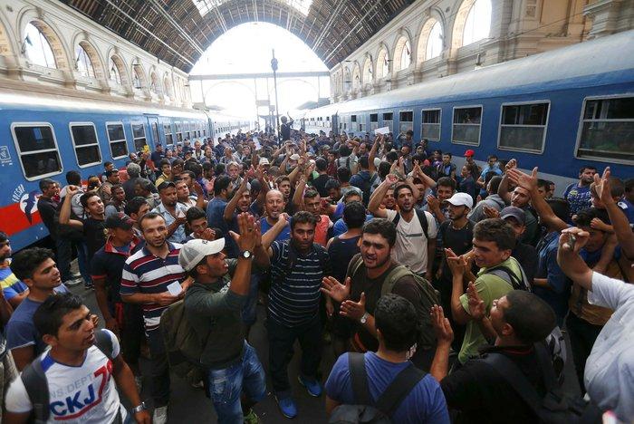 Xάος με την προσφυγική έξοδο σε ολόκληρη την Ευρώπη - εικόνα 3