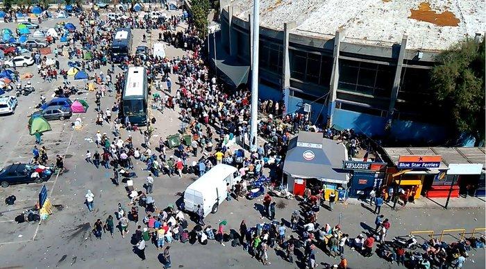 Xάος με την προσφυγική έξοδο σε ολόκληρη την Ευρώπη