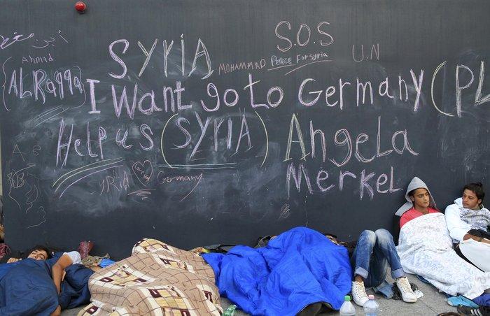 Xάος με την προσφυγική έξοδο σε ολόκληρη την Ευρώπη - εικόνα 9
