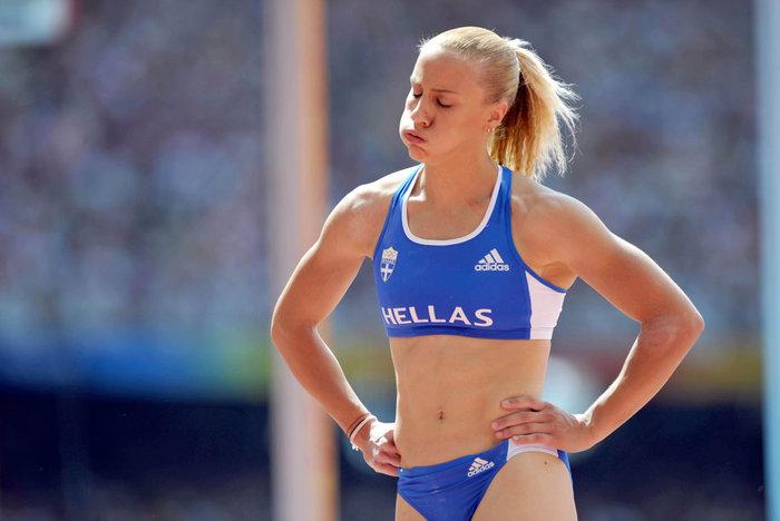 Νικόλ Κυριακοπούλου: Η καλλονή αθλήτρια από διαμάντι που δεν μασάει - εικόνα 10