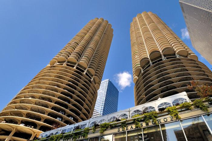 Τα εντυπωσιακά διαμερίσματα του Marina City στο Σικάγο, χτισμένα το1964