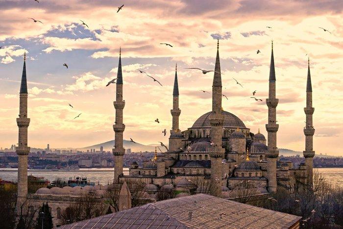 Το Μπλε Τζαμί στην Κωνσταντινούπολη