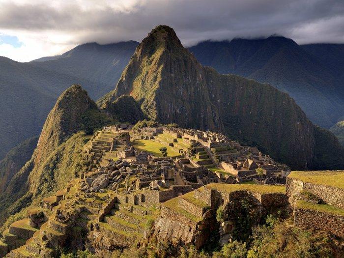 Το Machu Picchu στις Περουβιανές Ανδεις