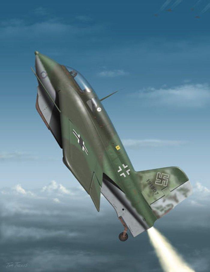 Το αεροσκάφος - ρουκέτα των Ναζί