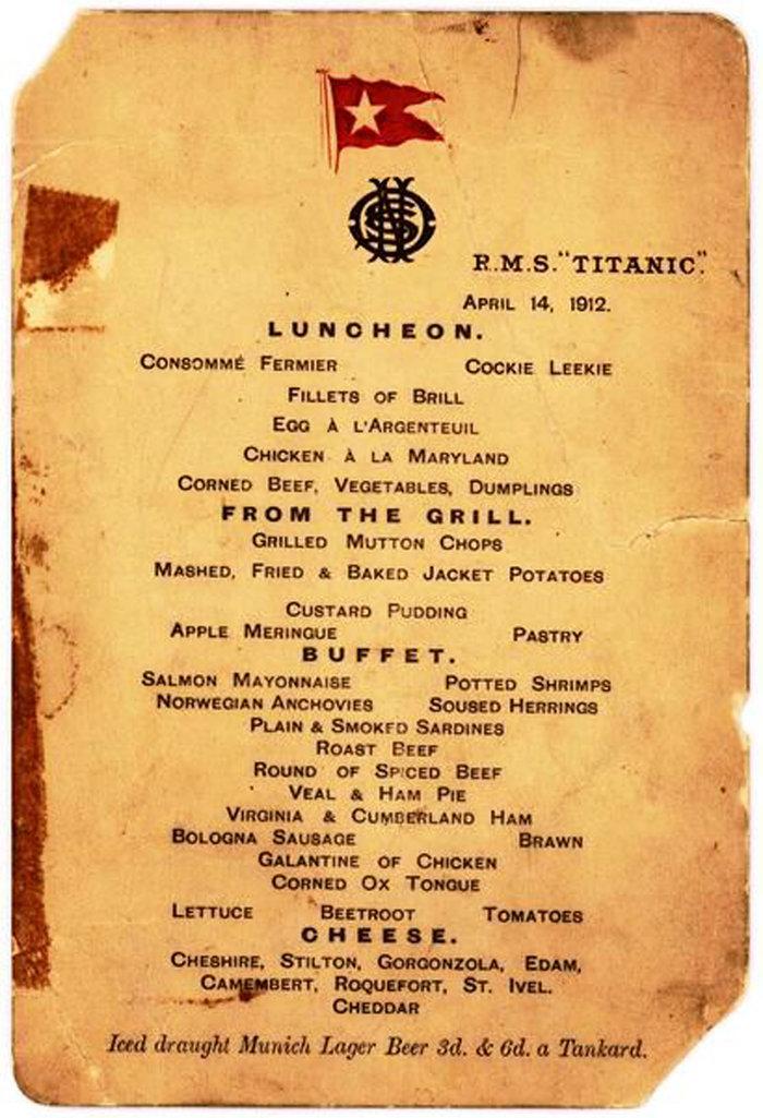 Σε δημοπρασία σημείωμα αριστοκράτη που έδειξε «δειλία» στον Τιτανικό