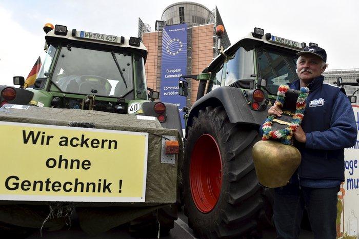 5000 αγρότες σε πορεία διαμαρτυρίας στις Βρυξέλλες ζητούν τη στήριξη της ΕΕ - εικόνα 9